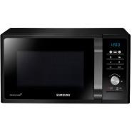 samsung mg23f301 microwave oven grill 23l ceramic enamel black automatic
