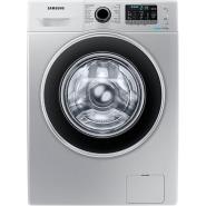 samsung ww80 j5260gs washing machine deep foam front load silver 8kg