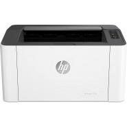 HP LaserJet 107w 4ZB78A, Black and White Laser Printer