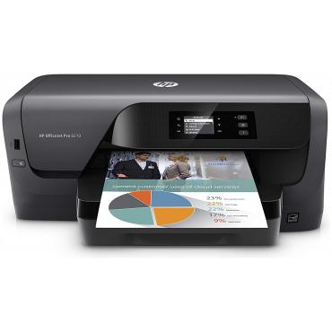 HP - OfficeJet Pro 8210 Wireless Inkjet Instant Ink Ready Printer - Black